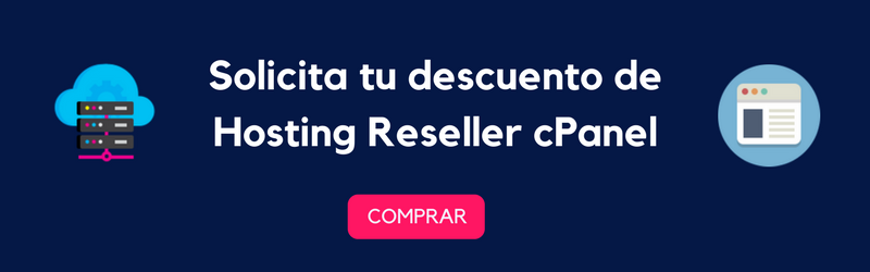 promocion especial de hosting reseller cpanel