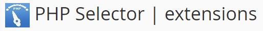 selector php en cpanel