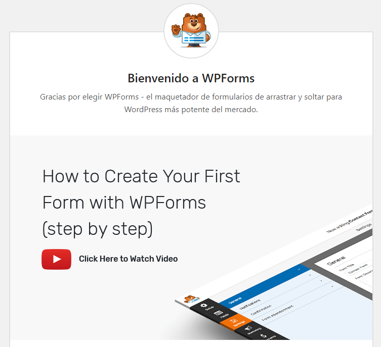 crear formularios con wpforms