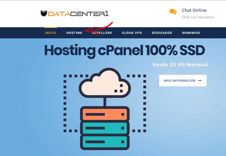 elegir el tipo de hosting