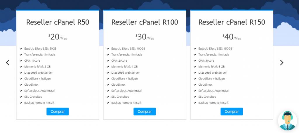 revender hosting